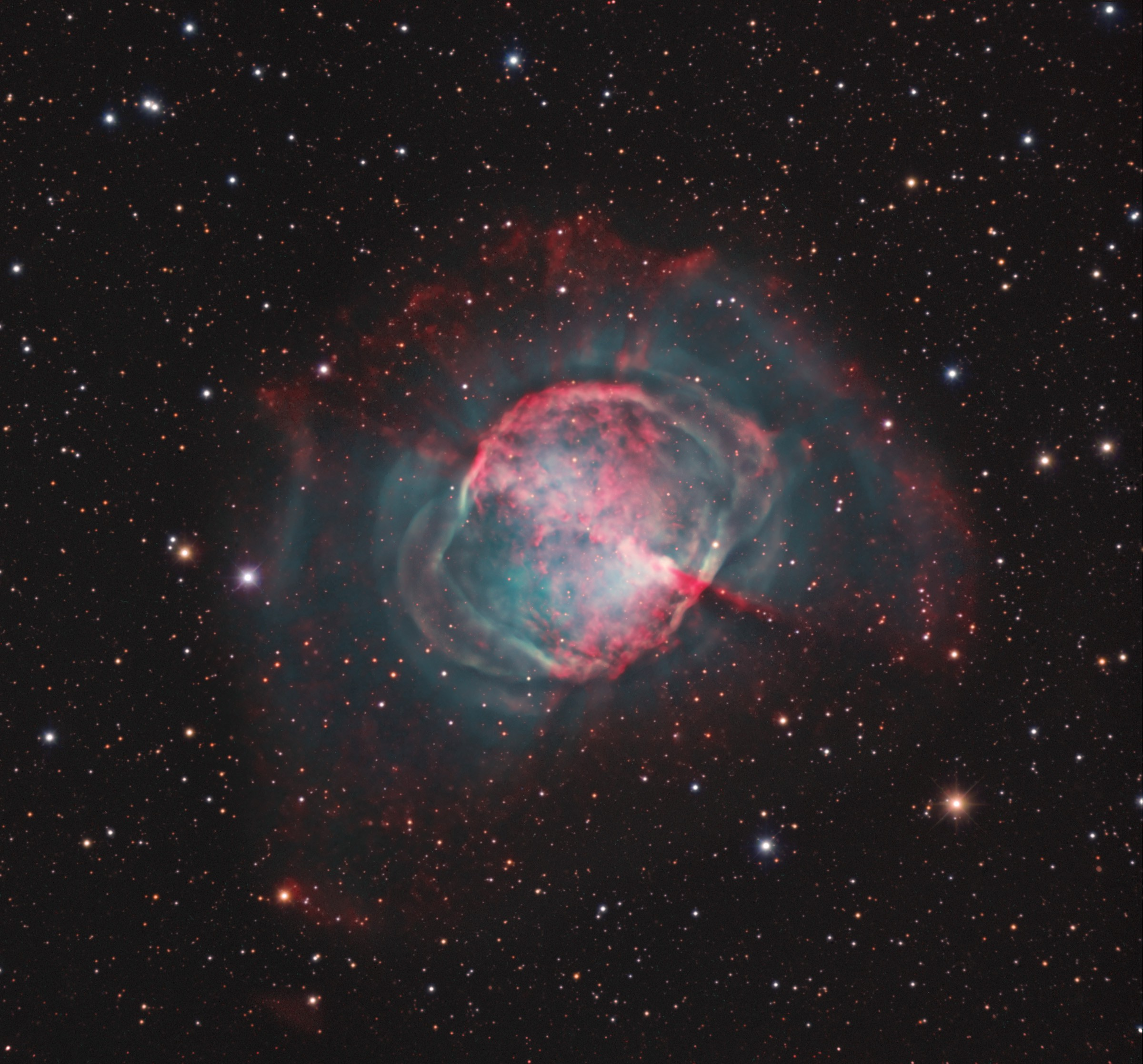 dumbbell nebula colors - photo #21